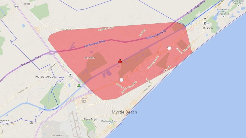 Thousands Temporarily Without Power Tuesday Afternoon In Horry