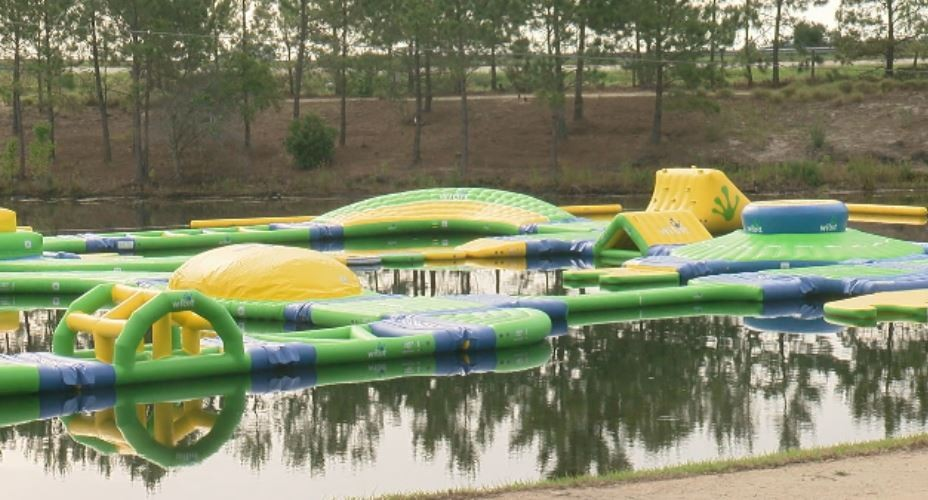 Shark Wake Park Opens A Floating Aqua At The North Myrtle Beach Sports Complex