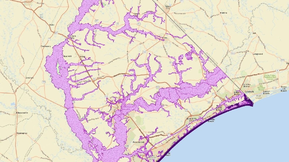 Myrtle Beach Chamber CEO Says New FEMA Maps Could Have Devastating - Current fema flood maps