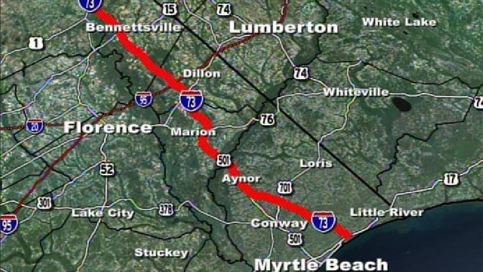 I 73 Map Deadline to comment on I 73 almost here | WPDE