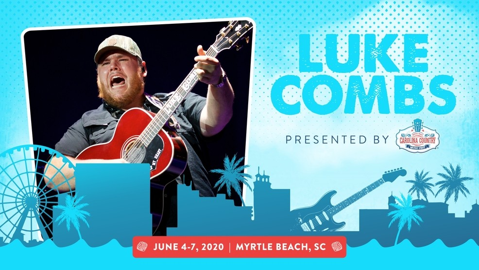 Myrtle Beach Country Music Festival 2020.Luke Combs Announced As First Headliner For 2020 Carolina
