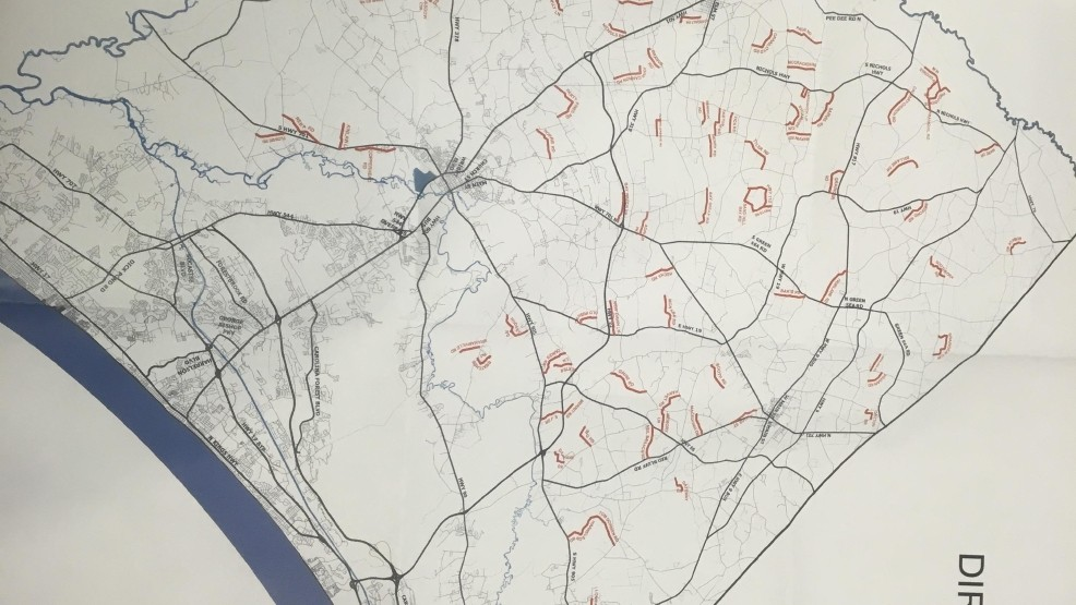 Future of Horry County roads is mapped out | WPDE on