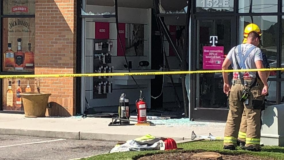 Car crashes into T-Mobile store near Carolina Forest | WPDE