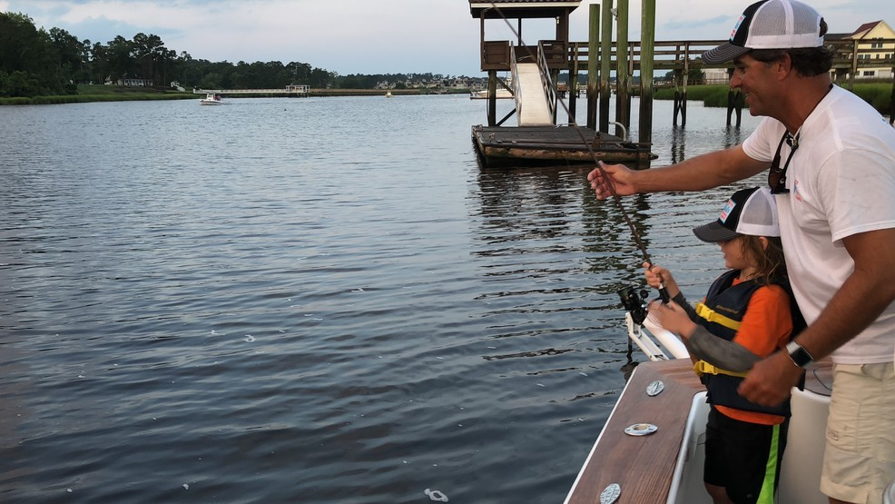 Captain Smiley S Palmetto Kids Fishing Camps Teach Fishing