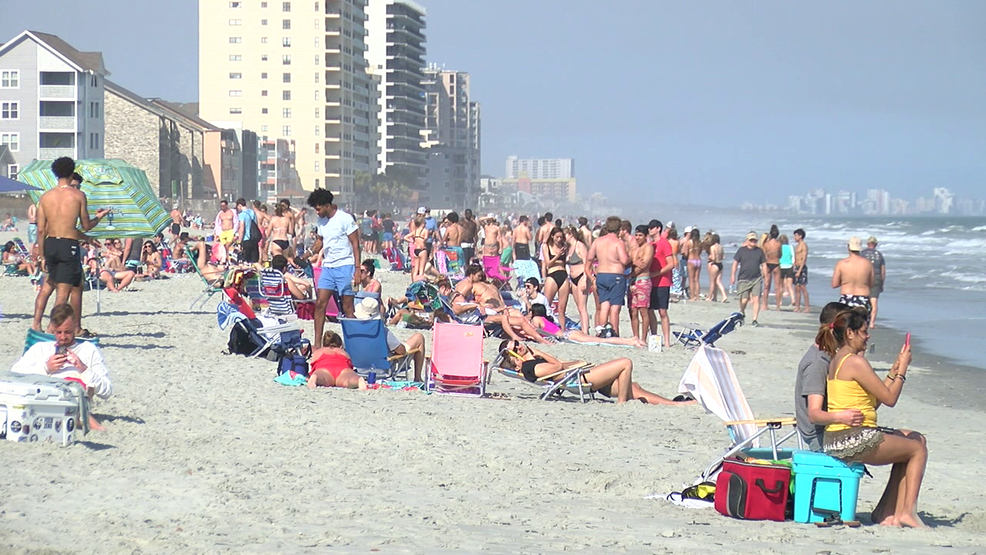 Sc Governor Asks Law Enforcement To Disperse Crowds On Beaches Wpde