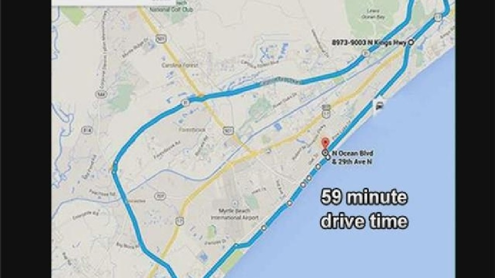 A Closer Look At Myrtle Beach S 40 Mile Traffic Loop For