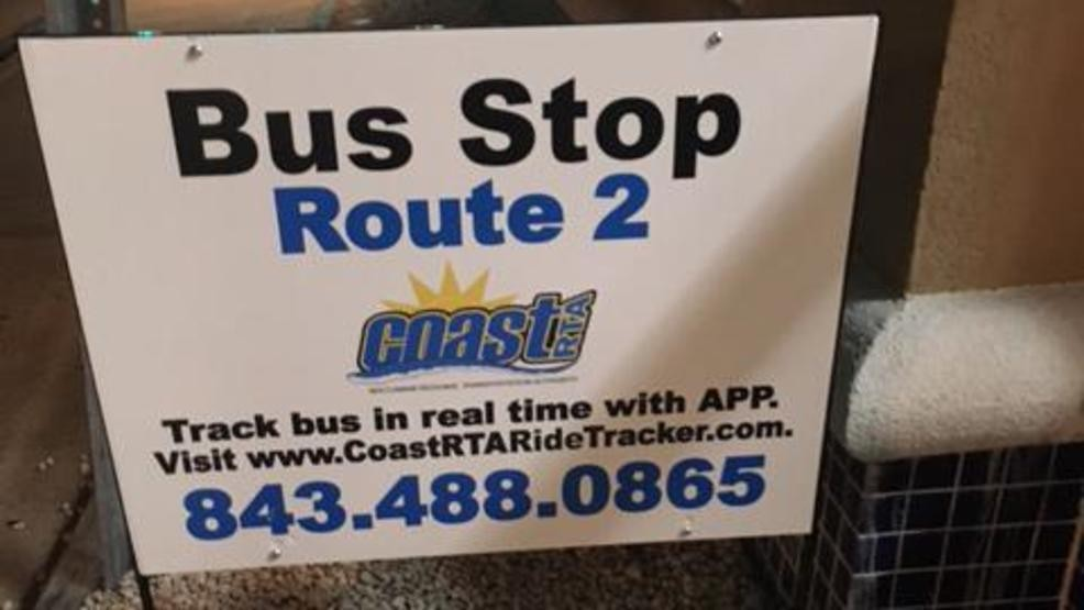 Coast RTA asks for help finding missing bus stop signs for