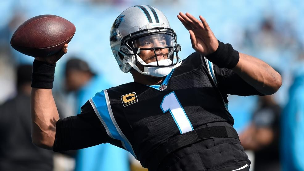 c8f47d73 Panthers QB Newton airs it out, throws with 'no limitations' | WPDE